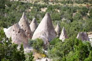 Kasha-Katuwe Tent Rocks National Monument, Cochiti Pueblo (New Mexico)
