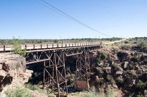 Route 66, Querino canyon bridge, Houck (Arizona)
