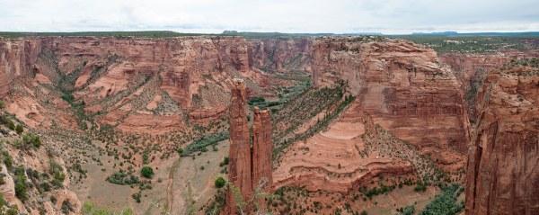 Canyon de Chelly, Spider Rock Overlook (Arizona)