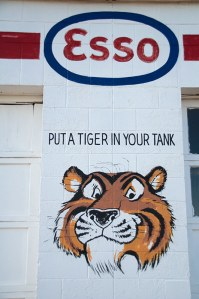 Esso gas station, Tucumcari, (New Mexico)
