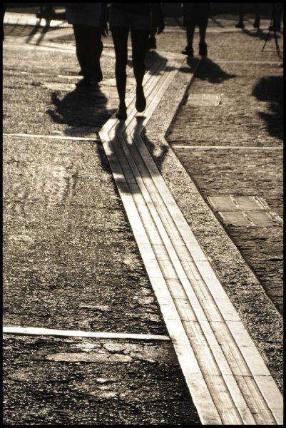 """And as we wind on down the road our shadows taller than our soul."" (Led Zeppelin - Stairway to heaven)"