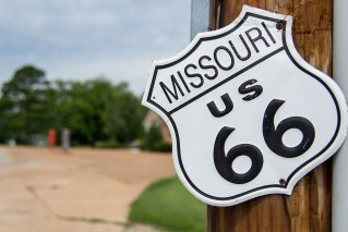 Route 66 - Wagon Wheel Motel, Cuba (Missouri)