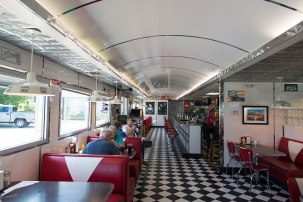 Route 66 - Route 66 Diner, St. Robert (Missouri)