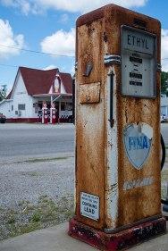 Route 66 - Marathon Gas Station, Commerce (Oklahoma)