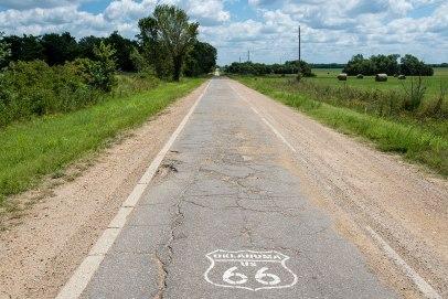 Route 66 - The Ribbon Road, Miami - Afton (Oklahoma)