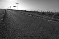 Route 66 - Giant Cross, Groom (Texas)