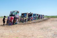 Route 66 - Cadillac Ranch, Amarillo (Texas)