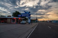 Route 66 - Blue Swallow Motel, Tucumcari (New Mexico)