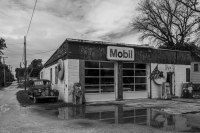 Route 66 - Mobil Gas Station, Odell (Illinois)