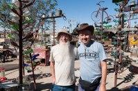 Io ed Elmer, Bottle Tree Ranch - Oro Grande
