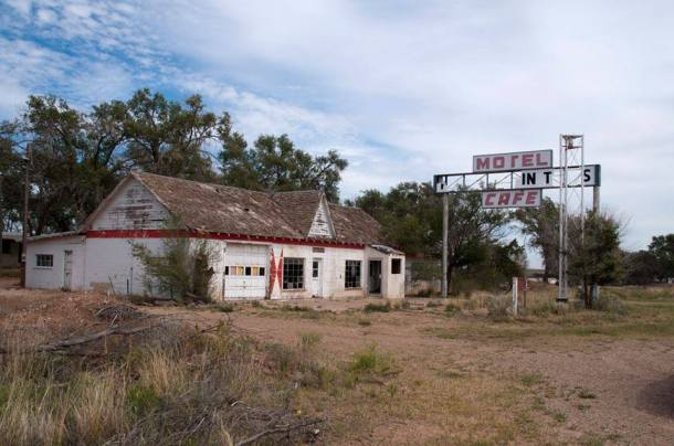 The first/last Motel in Texas - Glenrio