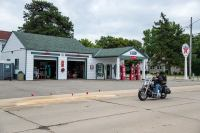 Ambler's Texaco Gas Station, Dwight (Illinois)