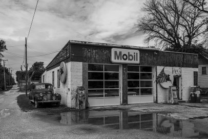 Mobil Gas Station, Odell (Illinois)
