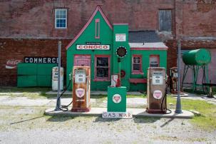 Allen's Fillin' Station, Commerce (Oklahoma)