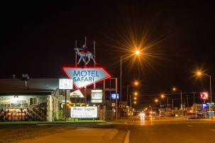 Motel Safari, Tucumcari (New Mexico)
