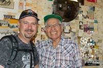 Io ed Angel Delgadillo, Seligman (Arizona)