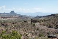 Route 66 sulle Black Mountains (Arizona)
