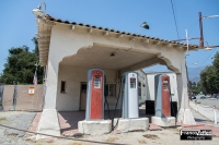 Old gas Station, Monrovia (California)