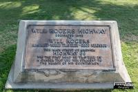 Targa commemorativa di Will Rogers, Santa Monica (California)
