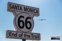 """End of the trail"", Santa Monica (California)"