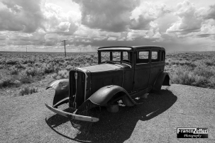 Studebaker al Painted Desert (Arizona)