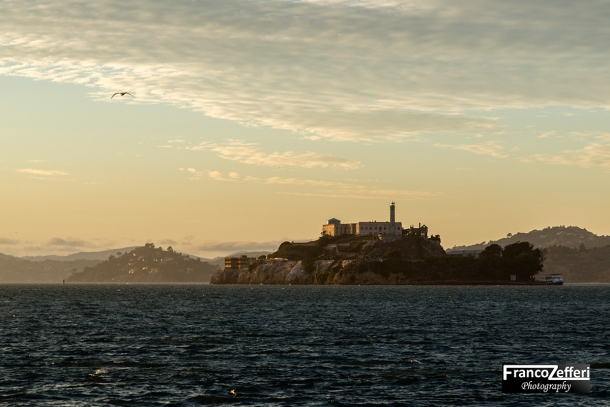 Alcatraz dal Pier 39, Union Square, San Francisco (California)