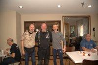 Dries, il presidente della Route 66 Association of Holland. Condividevamo lo stesso hotel a Chicago. Ci siamo incontrati accidentalmente a colazione.