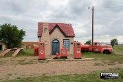 La Phillips 66 Gas Station di McLean in Texas