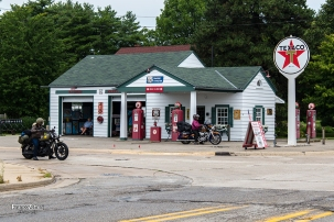 Ambler's Texaco gas Station (Dwight, Illinois)