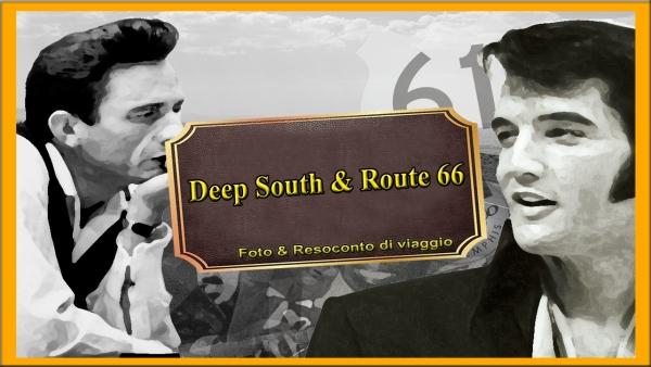 Copertina Deep South & Route 66 - diario a casa e foto