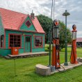 La Phillips 66 Gas Station di Red Oak II a Carthage in Missouri